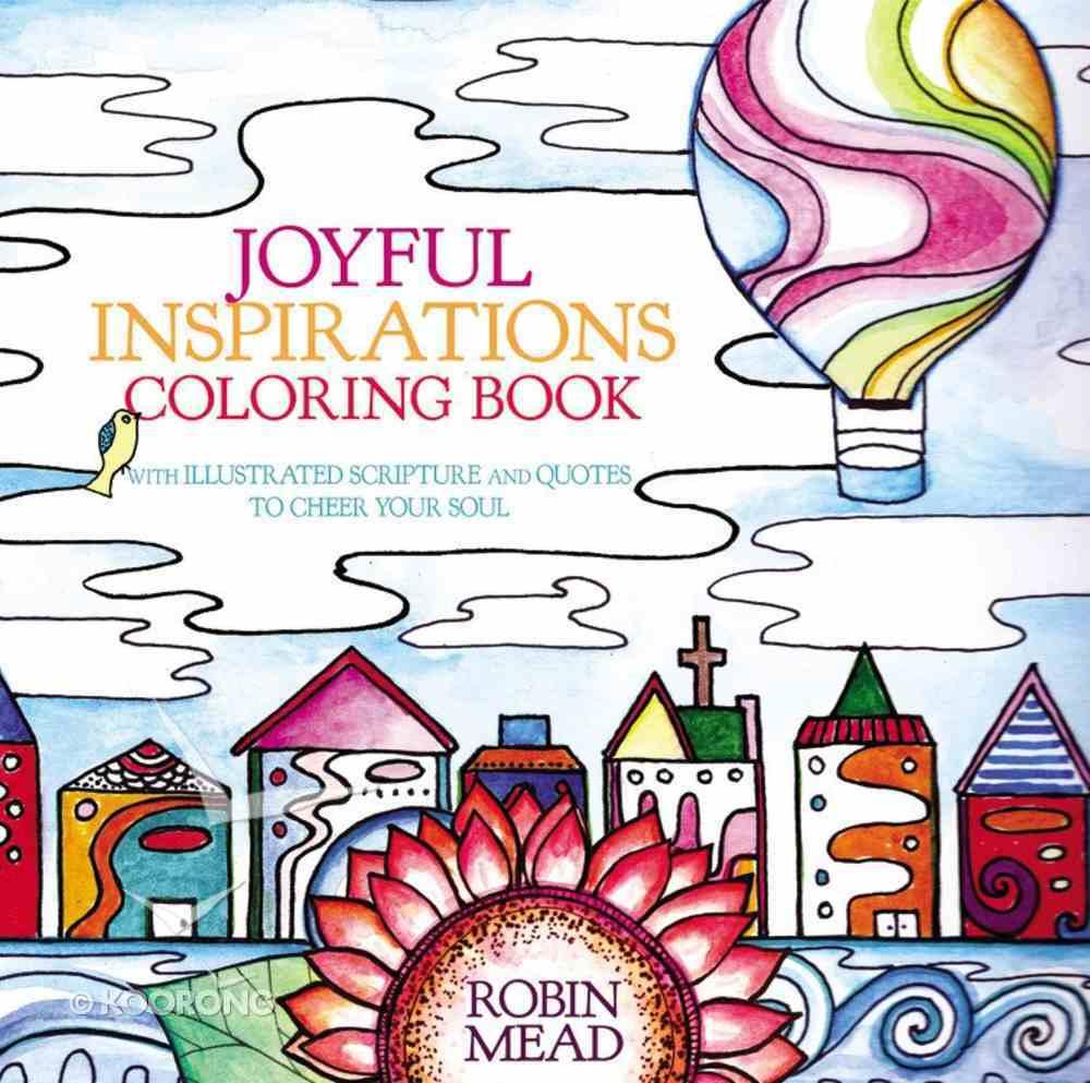 Joyful Inspirations (Adult Coloring Books Series) Paperback