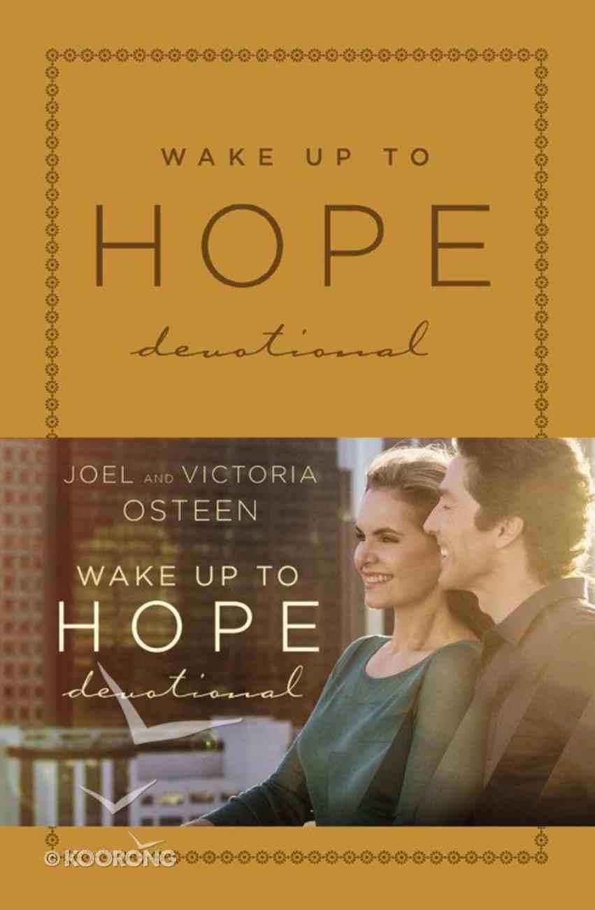 Wake Up to Hope: Devotional Imitation Leather