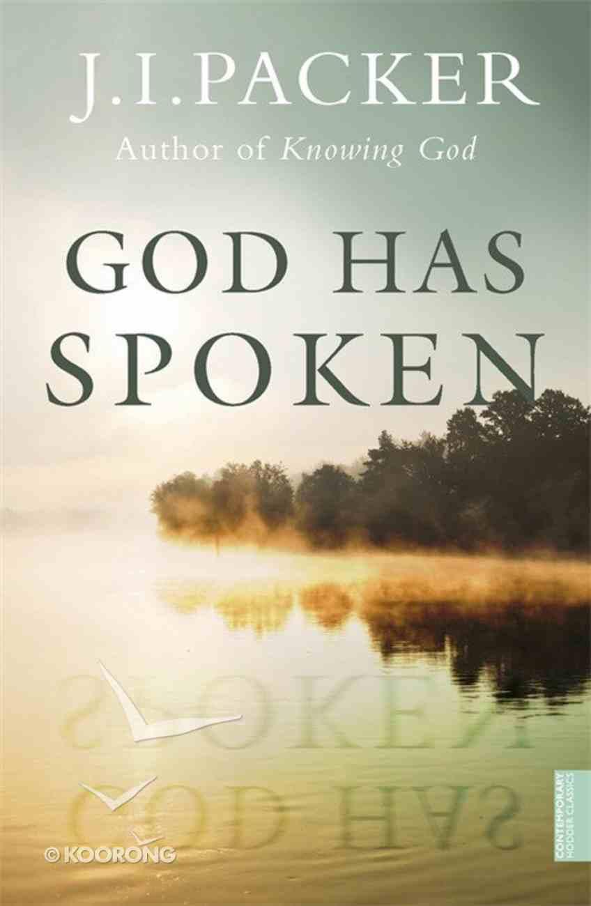 God Has Spoken Paperback