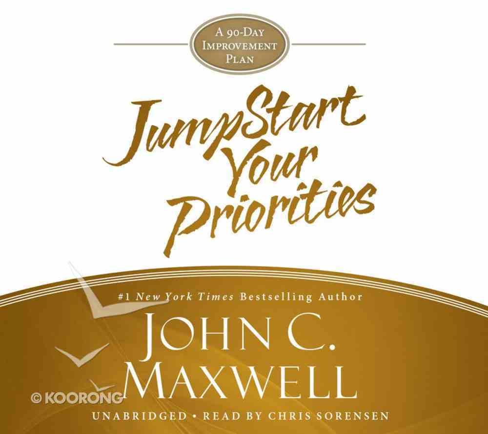 Jumpstart Your Priorities (Unabridged, 2 Cds) CD