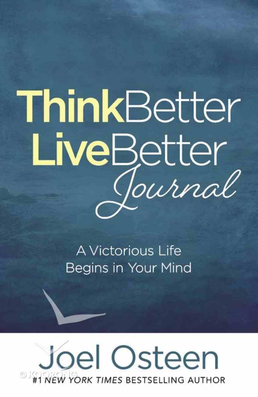 Think Better, Live Better Journal Hardback