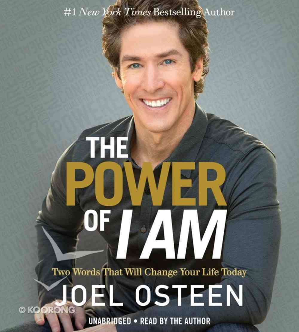 The Power of I Am (Unabridged, 7 Cds) CD