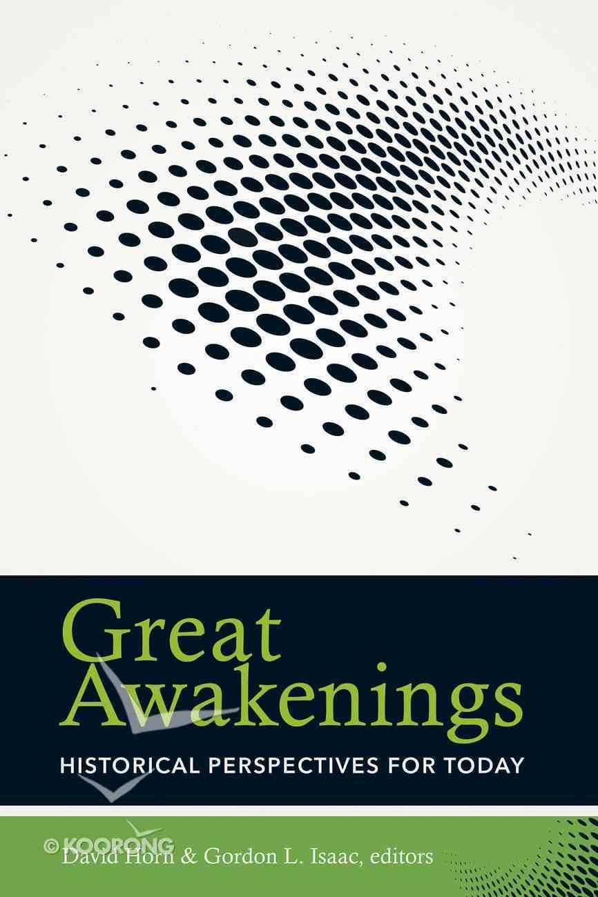 Great Awakenings Paperback