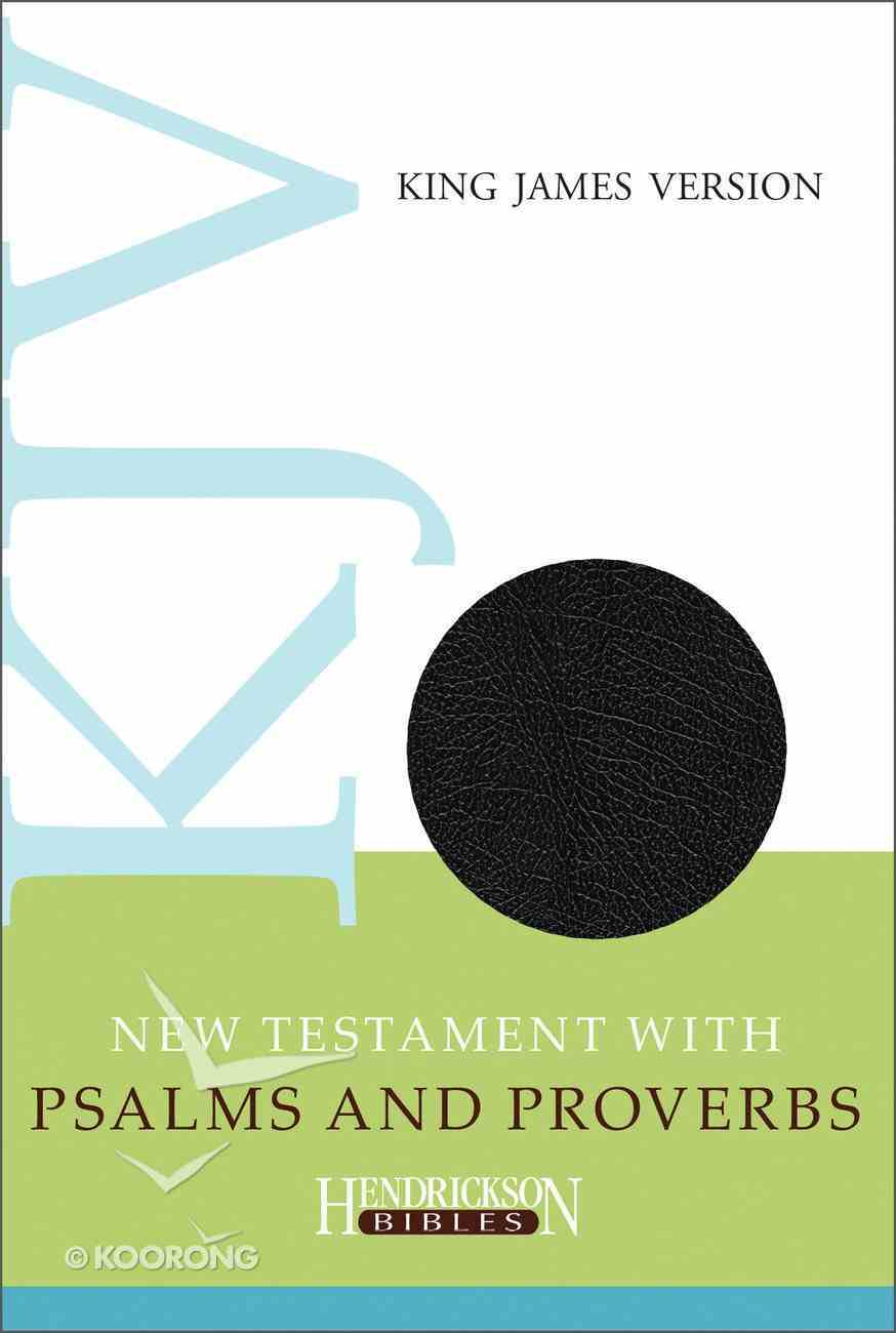 KJV New Testament With Psalms and Proverbs Imitation Leather