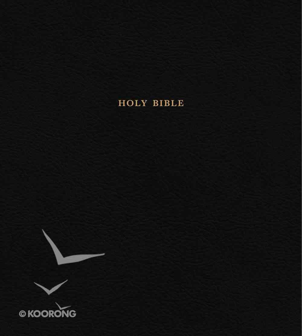 KJV Expressions Bible Leather Hardcover Black Hardback