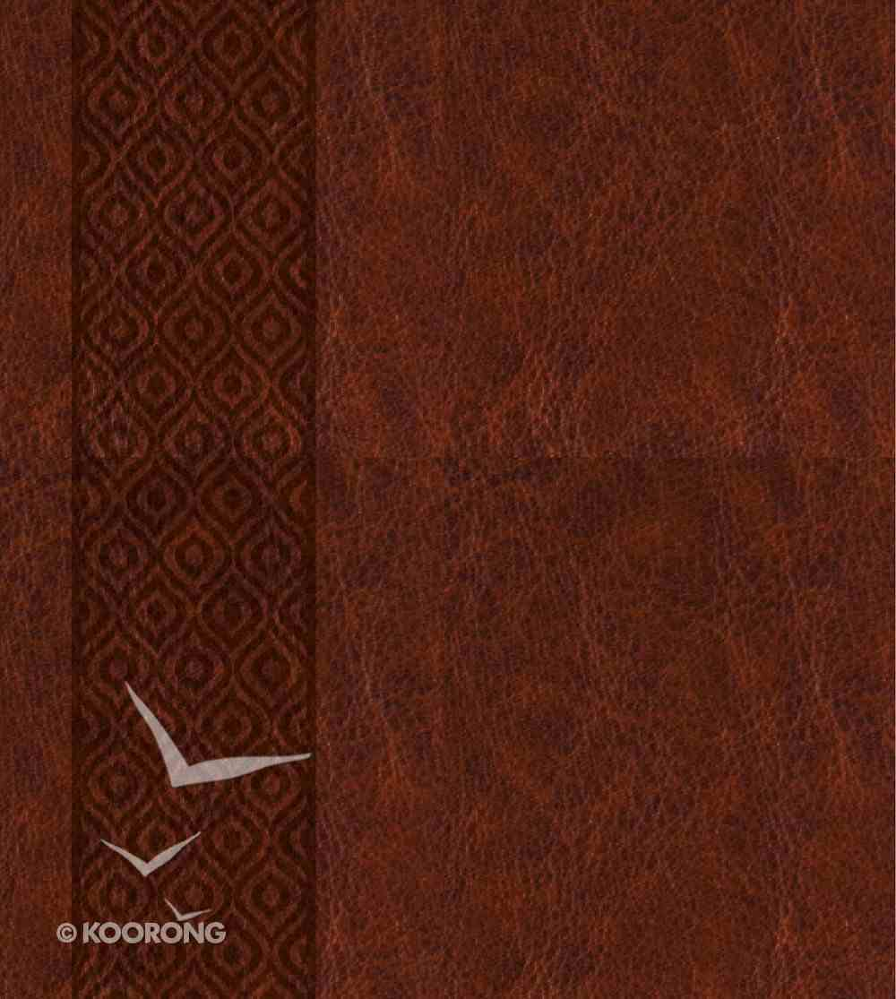KJV Expressions Bible Leather Hardcover Brown Hardback