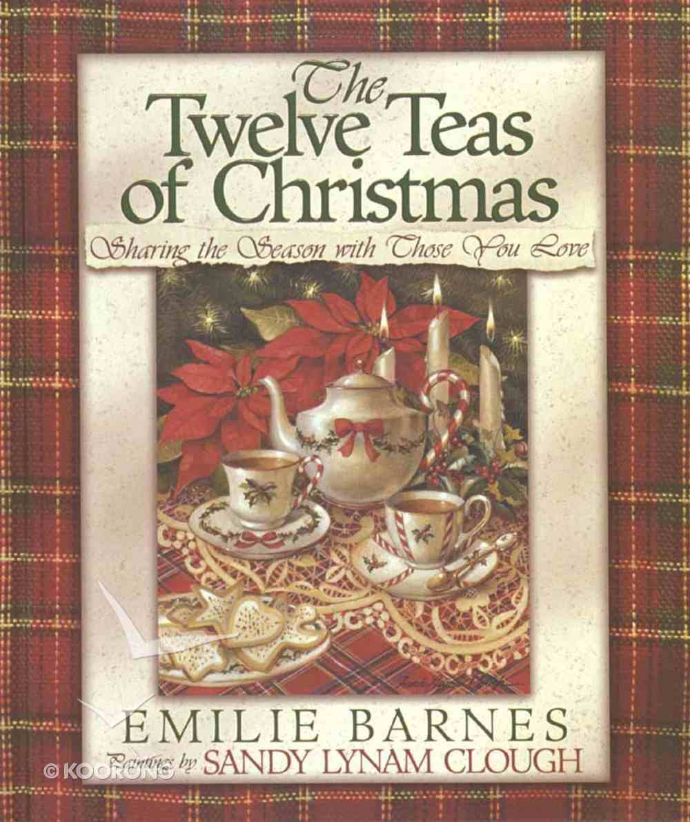 The Twelve Teas of Christmas Hardback