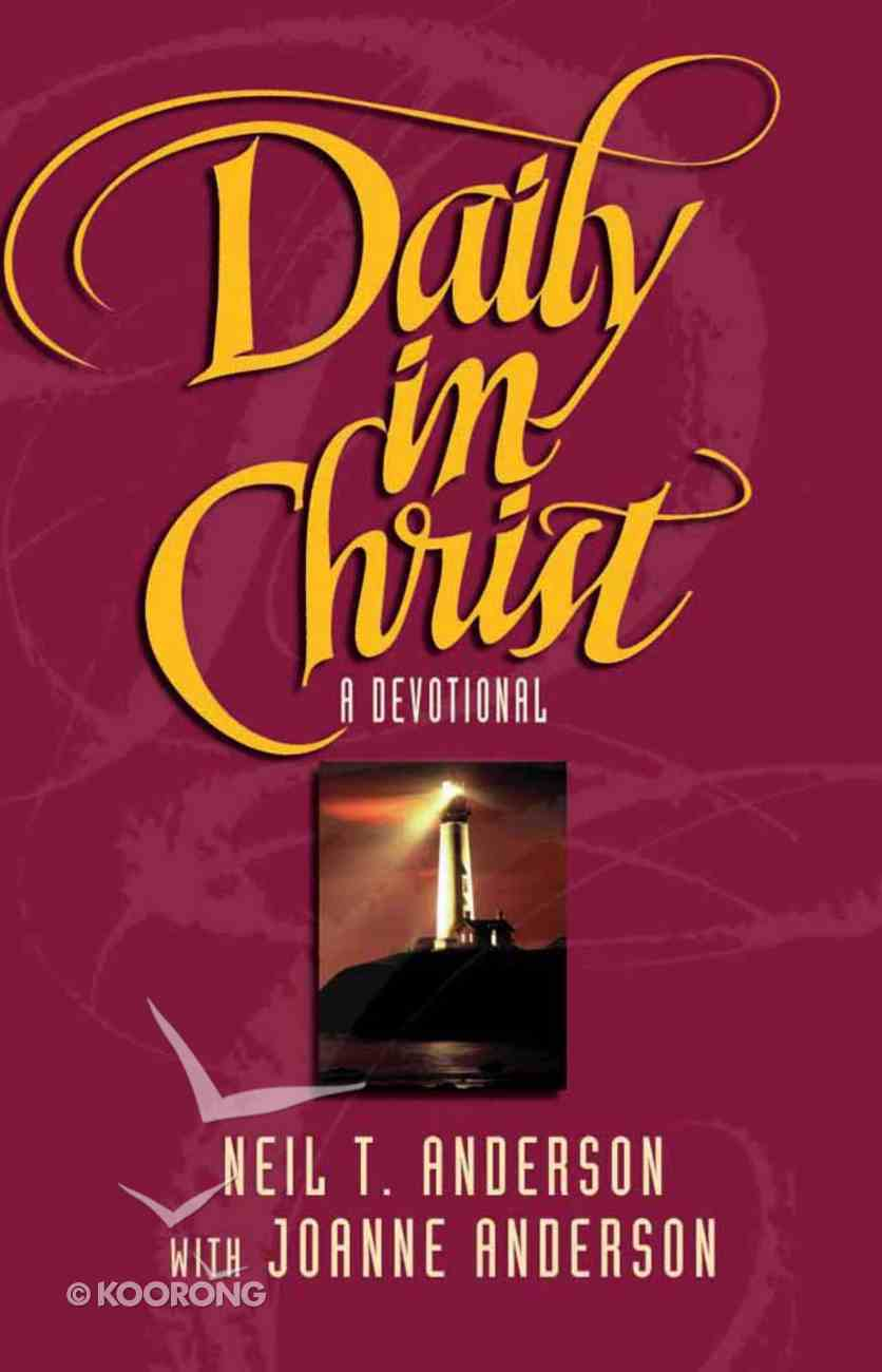 Daily in Christ Paperback