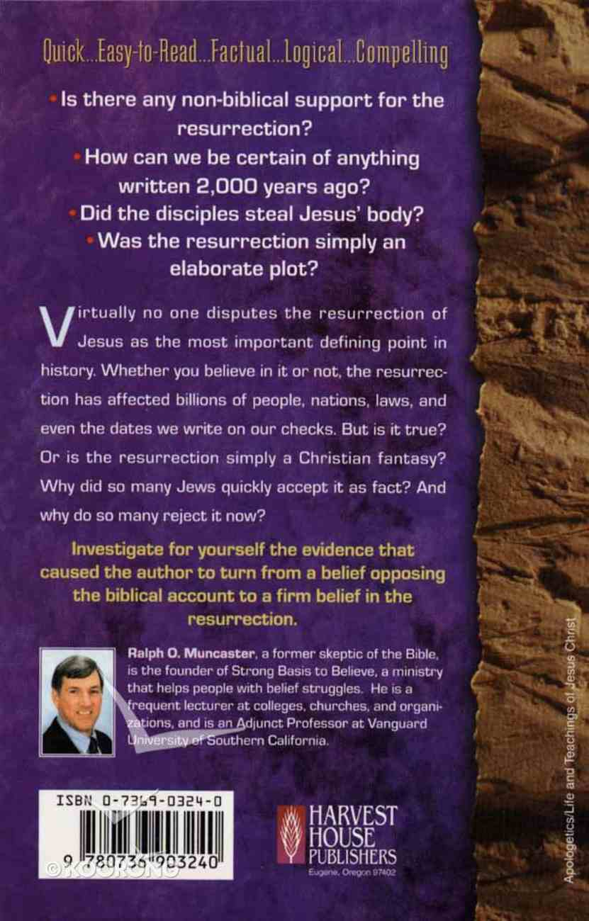 What is the Proof For the Resurrection? (Examine The Evidence Series) Paperback
