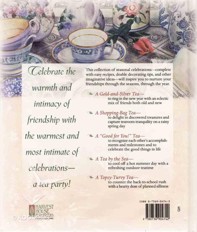 The Twelve Teas of Friendship Hardback