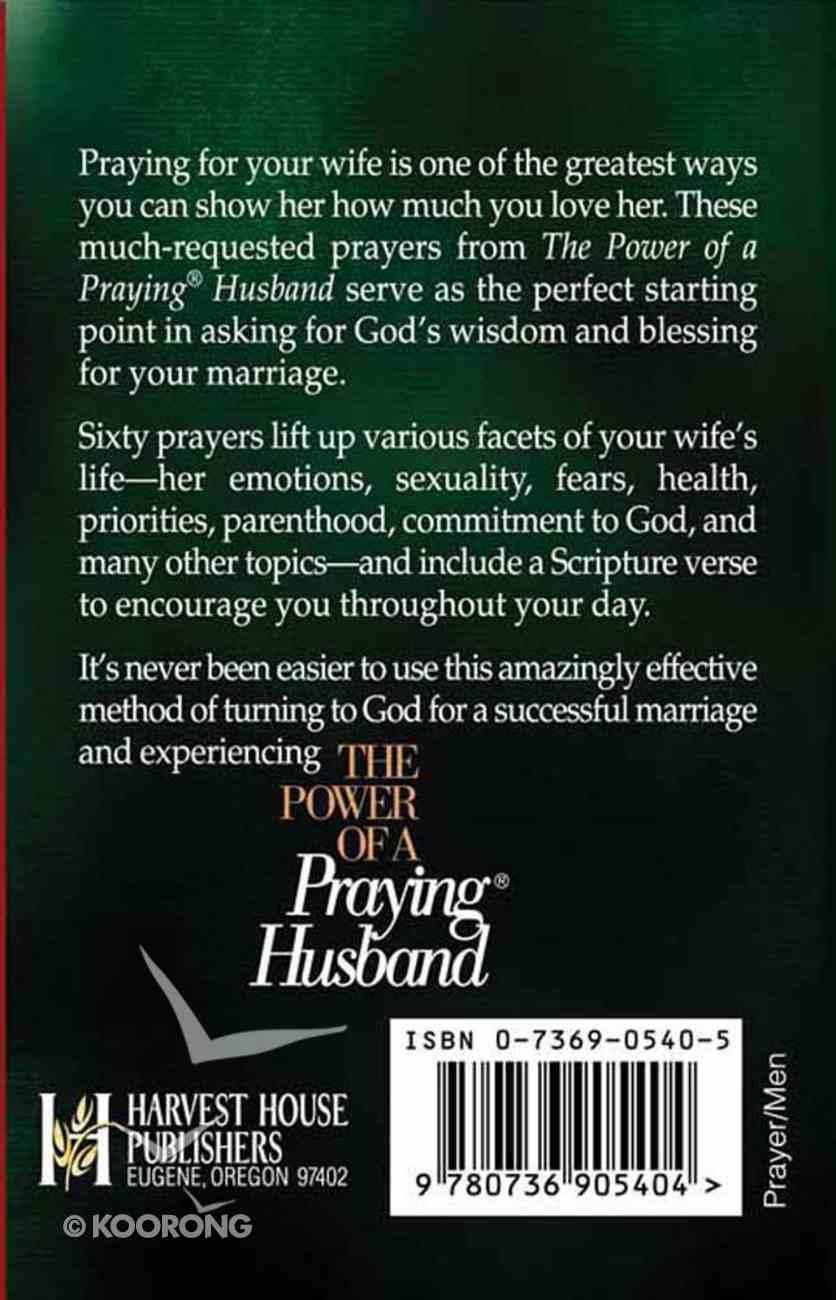 Power of Praying Husband (Prayer Pak) Paperback