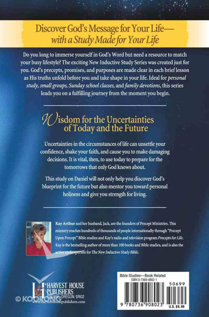 God's Blueprint For Bible Prophecy (Daniel) (New Inductive Study Series) Paperback