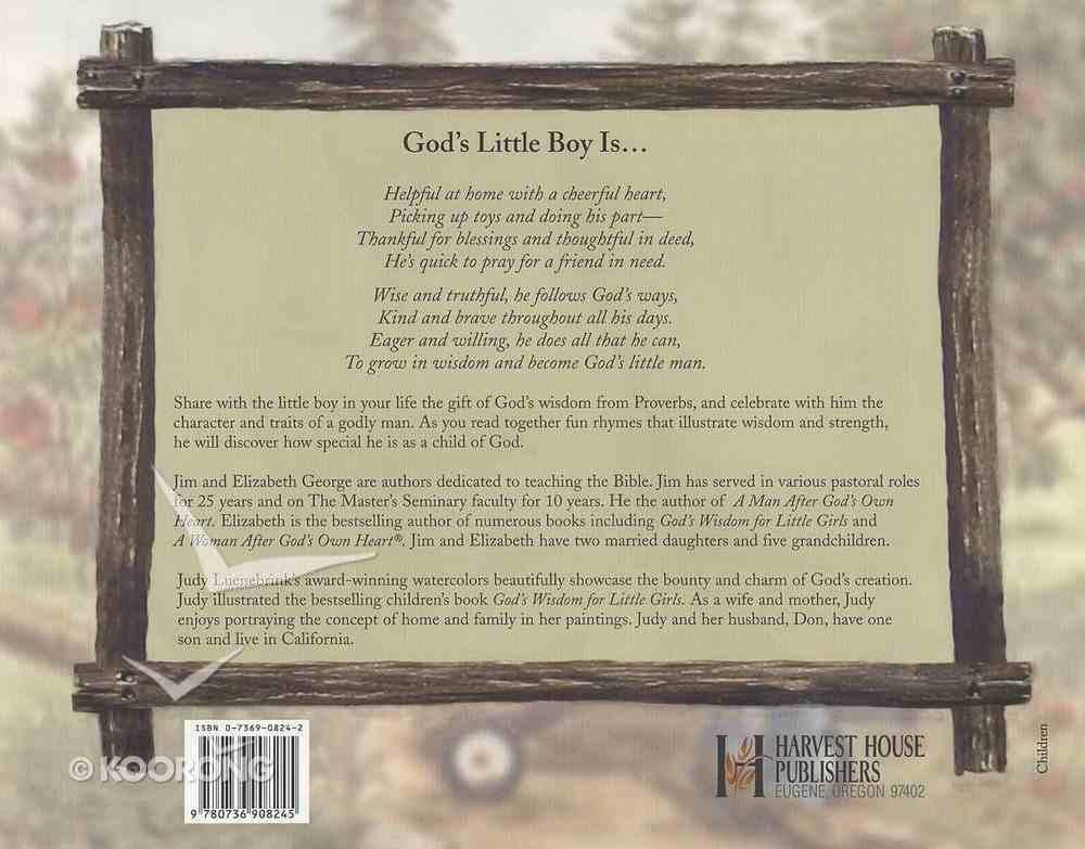 God's Wisdom For Little Boys Hardback