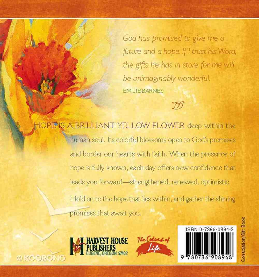 Colors of Life: The Promise of Hope Hardback