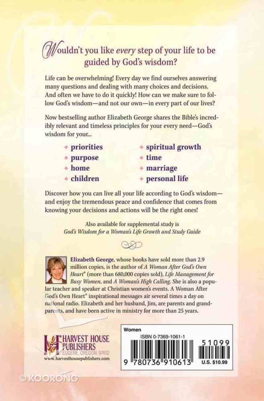 God's Wisdom For a Woman's Life Paperback