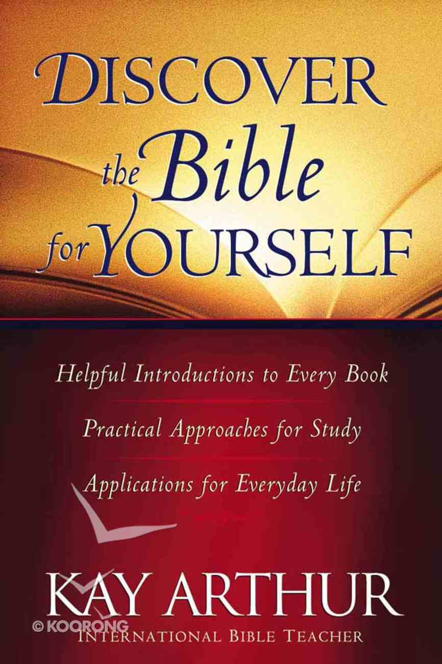 Discover the Bible For Yourself Paperback
