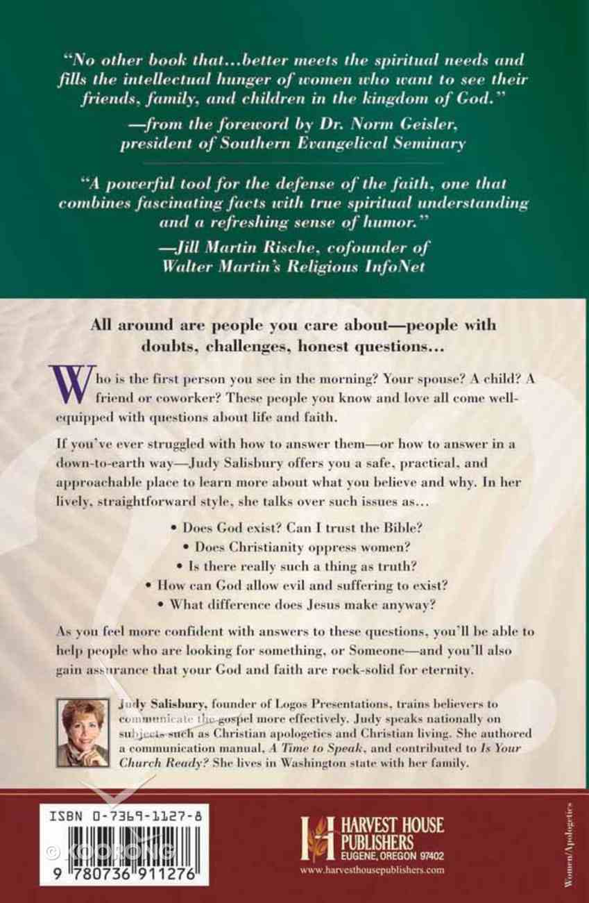 A Christian Woman's Guide to Reasons For Faith Paperback