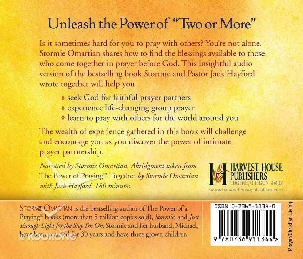 Power of Praying Together CD