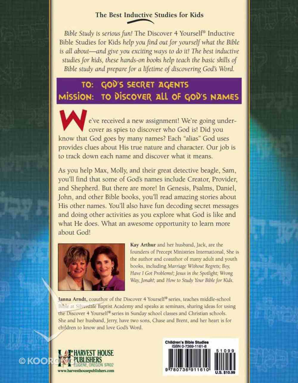 God, What's Your Name? (Discover For Yourself Bible Studies Series) Paperback