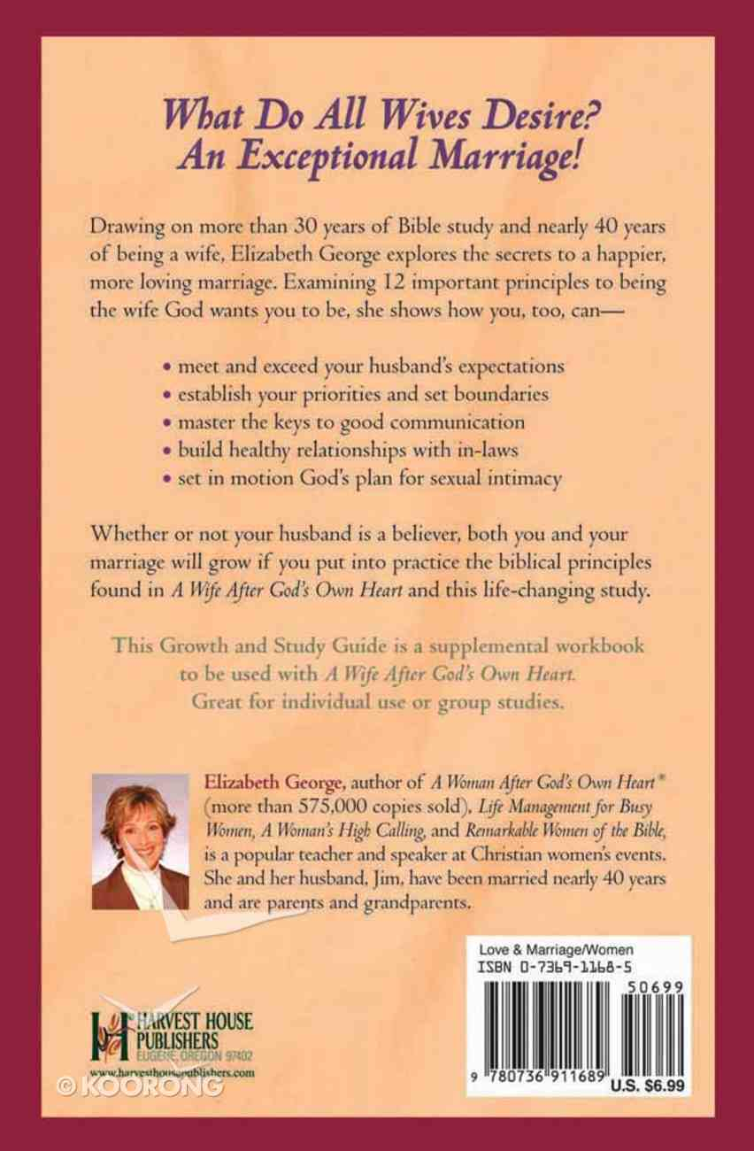 A Wife After God's Own Heart (Growth & Study Guide) Paperback