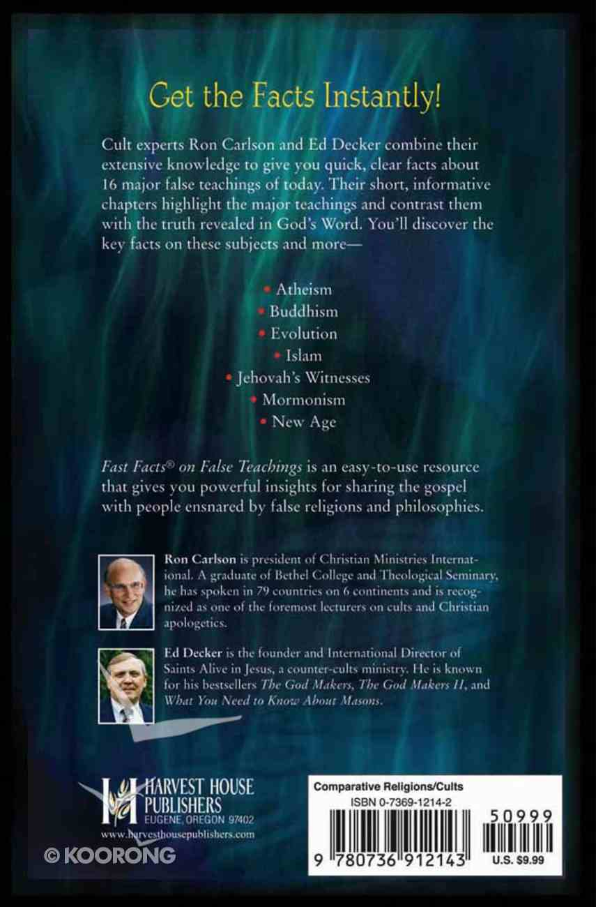Fast Facts on False Teachings Paperback