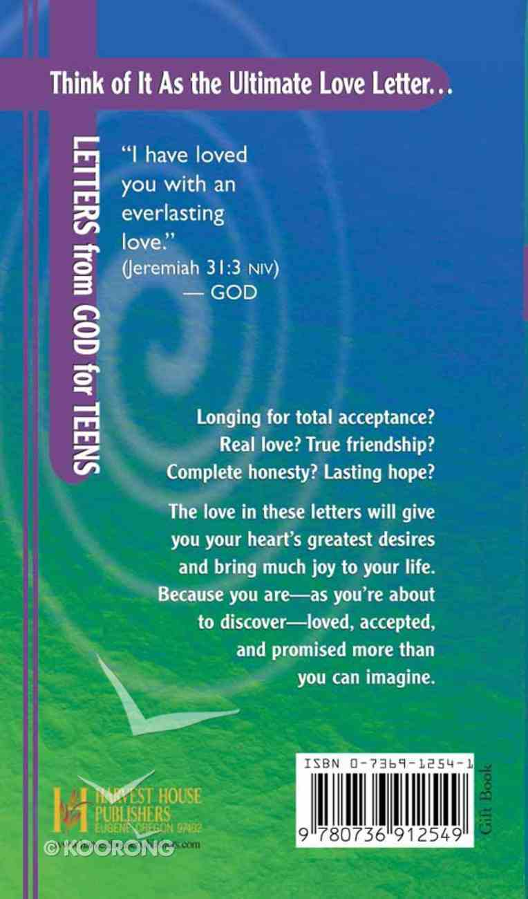 Letters From God For Teens Hardback