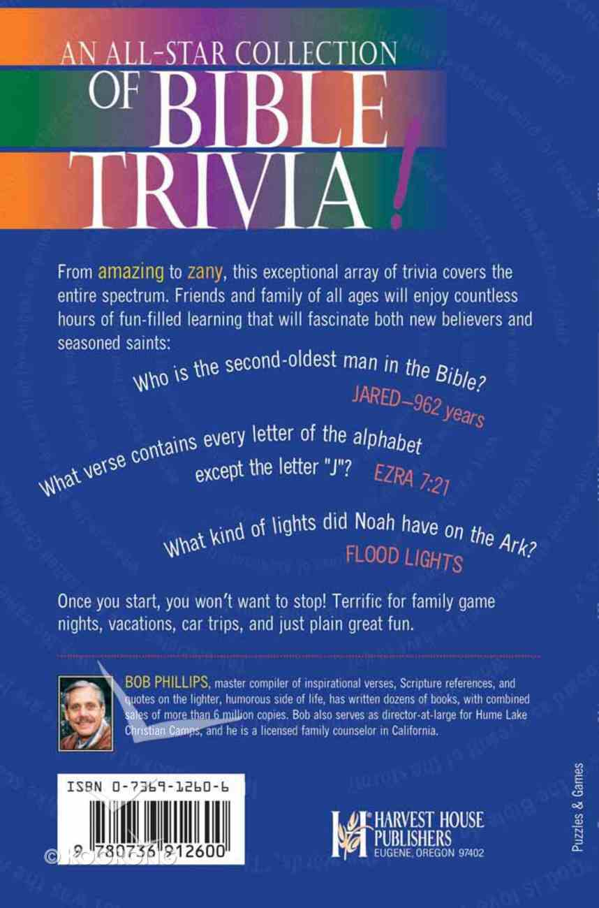 The Awesome Book of Bible Trivia Paperback