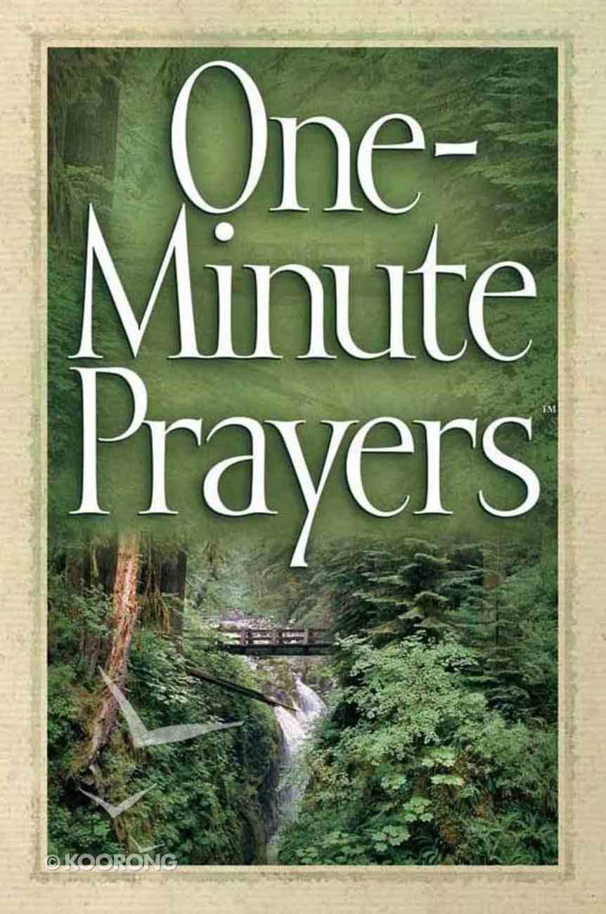 One-Minute Prayers Paperback