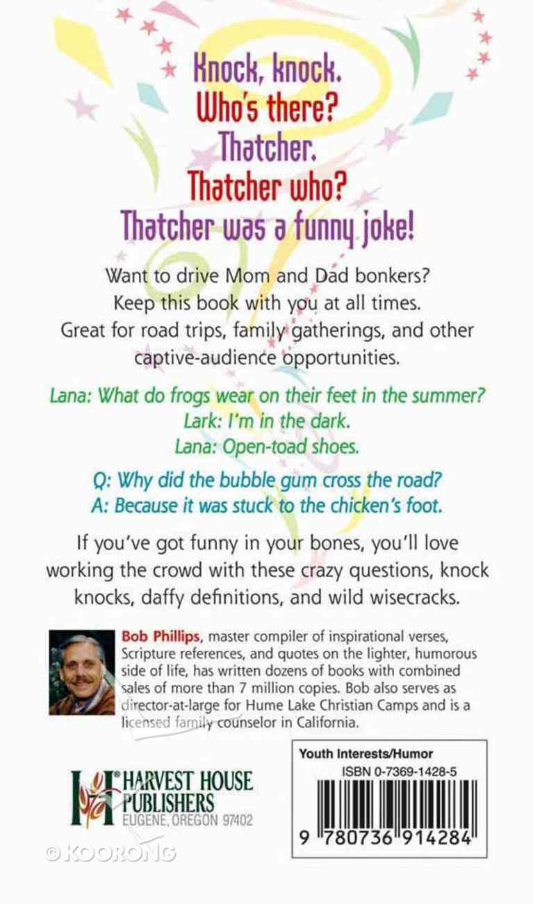 Good Clean Jokes to Drive Your Parents Crazy! Mass Market