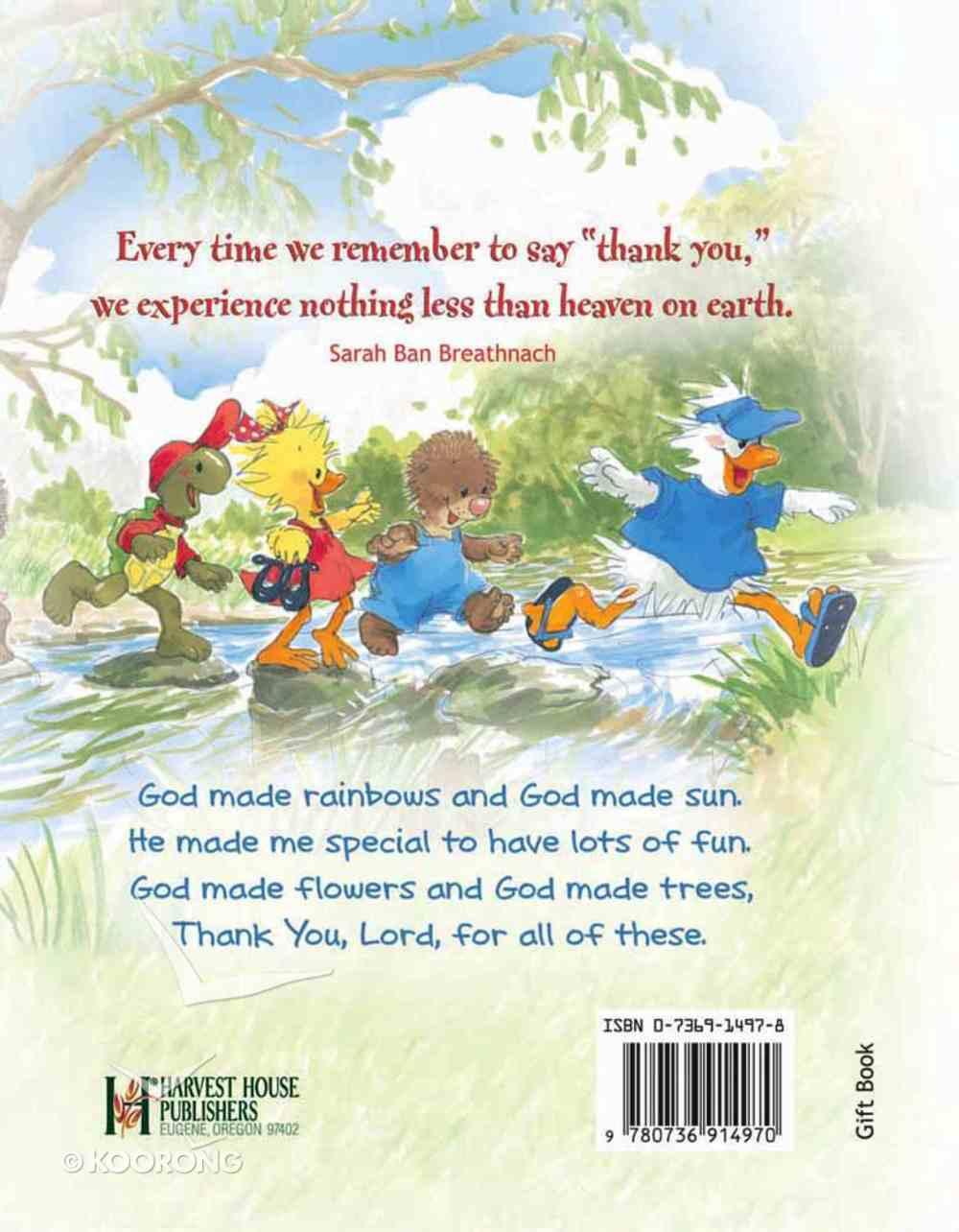 My Little Book of Thanks (Suzy's Zoo Series) Hardback
