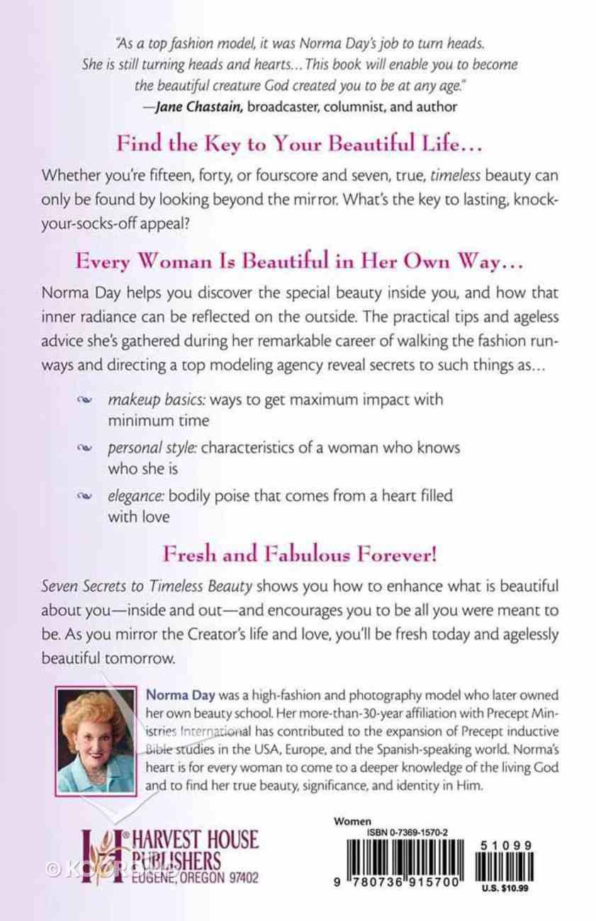 Seven Secrets to Timeless Beauty Paperback