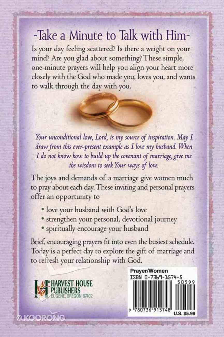 One-Minute Prayers For Wives Paperback
