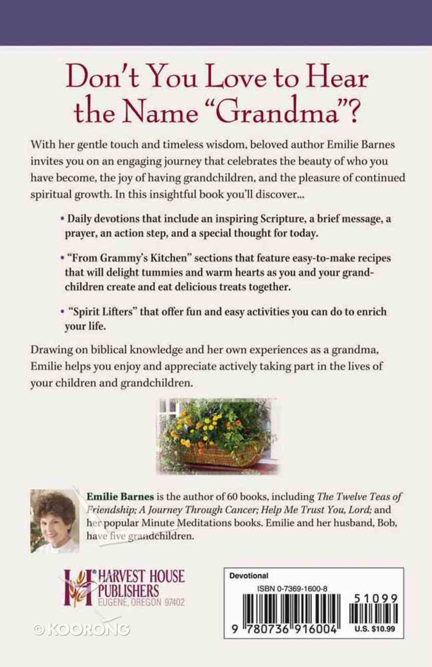 15 Minutes With God For Grandmothers Paperback