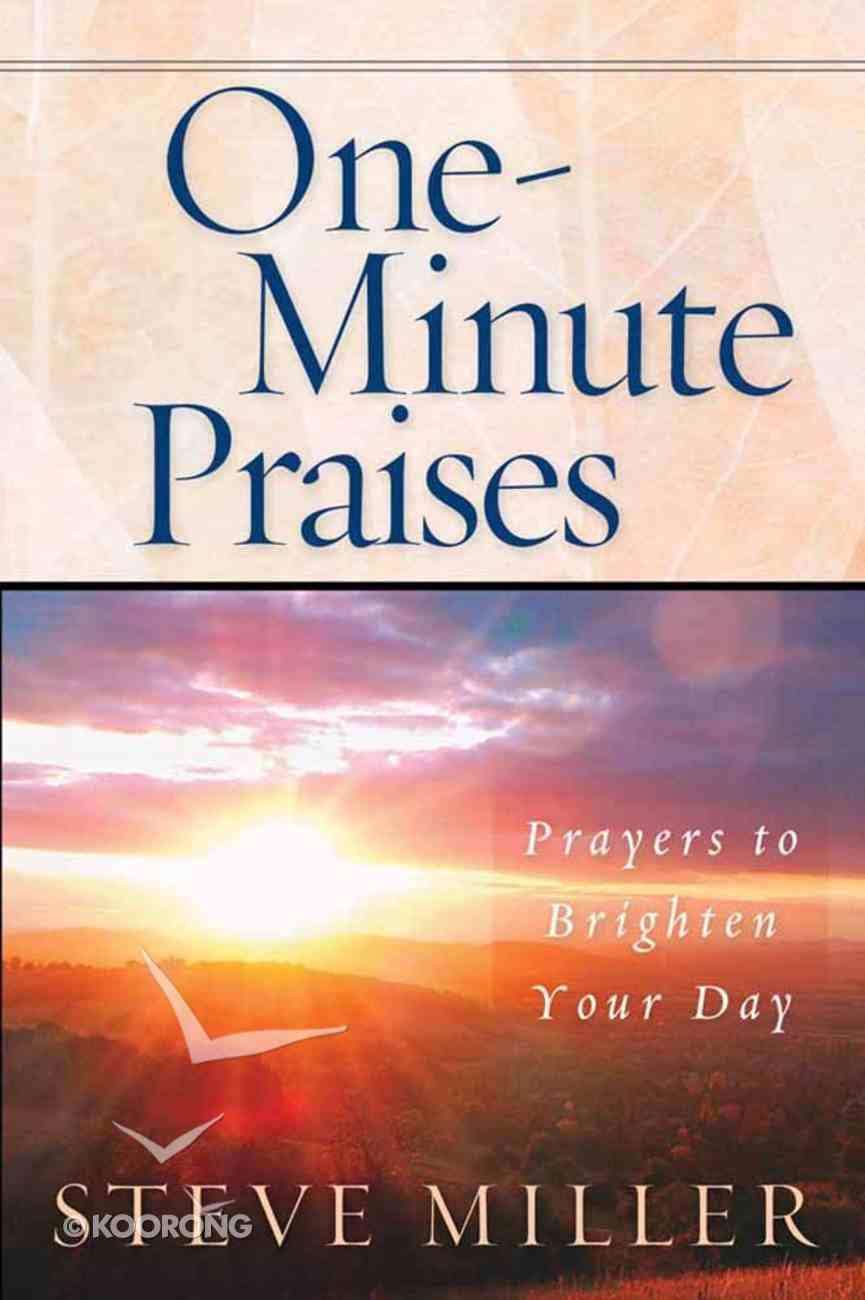 One-Minute Praises Paperback
