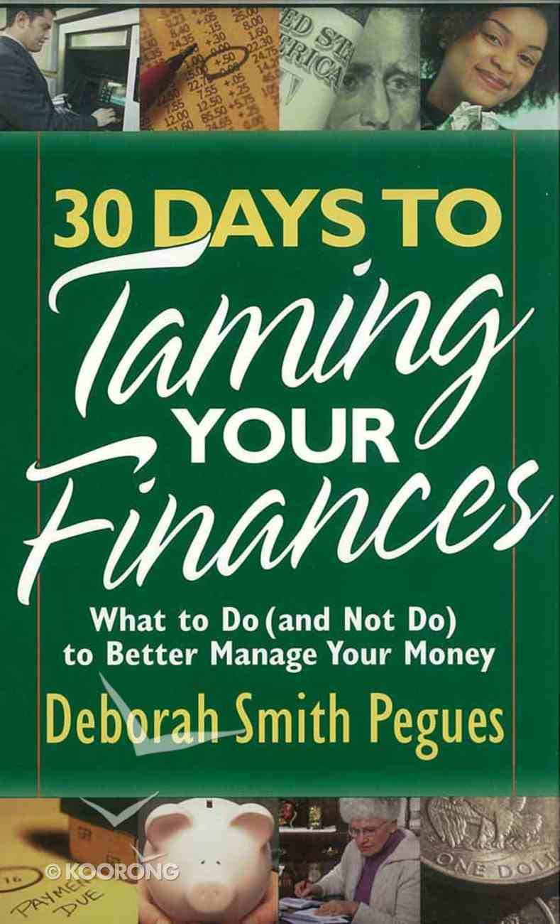 30 Days to Taming Your Finances Mass Market