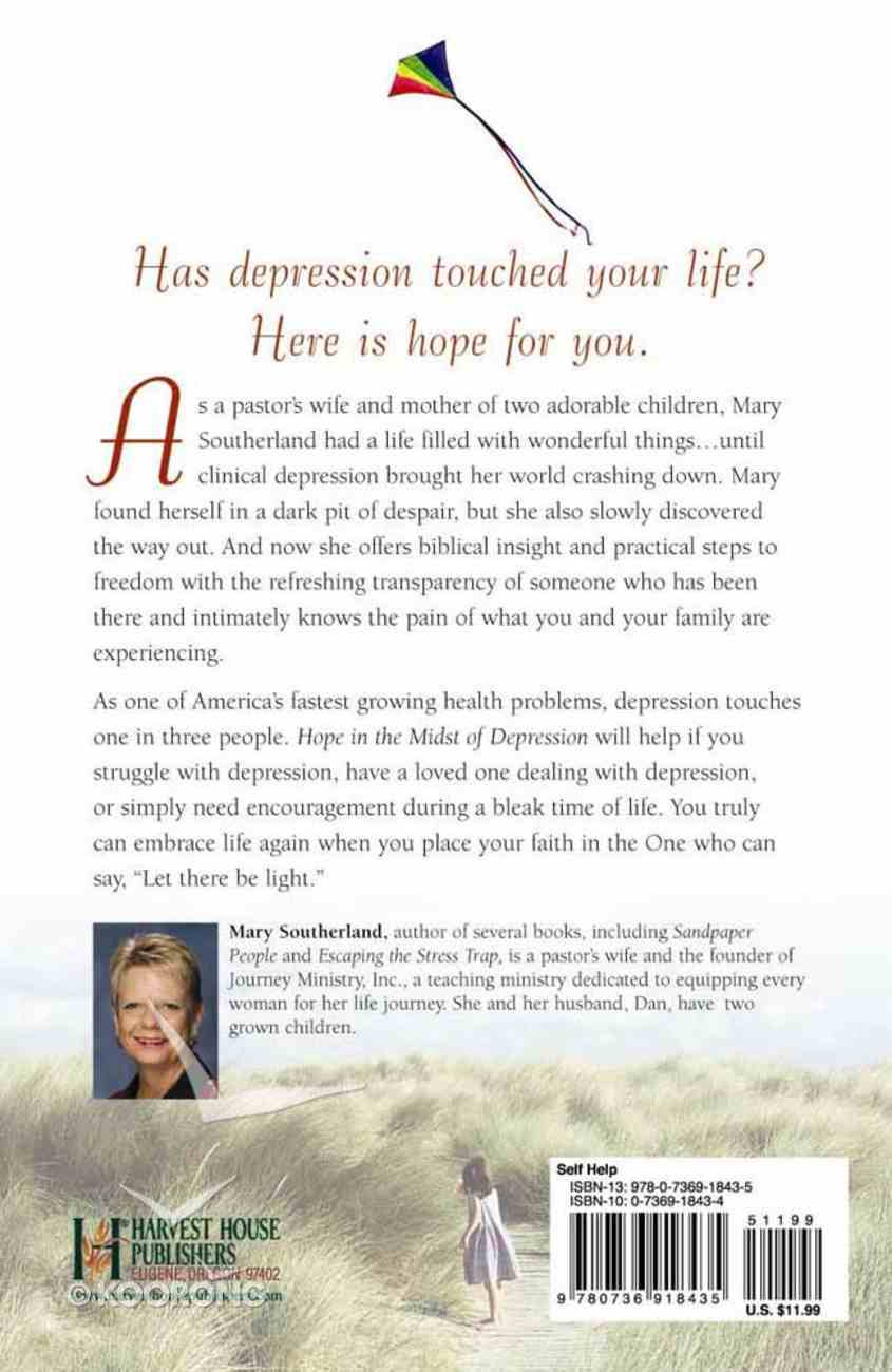 Hope in the Midst of Depression Paperback