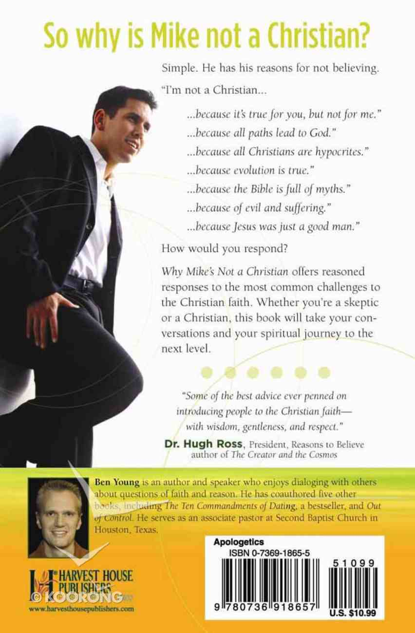 Why Mike's Not a Christian Paperback