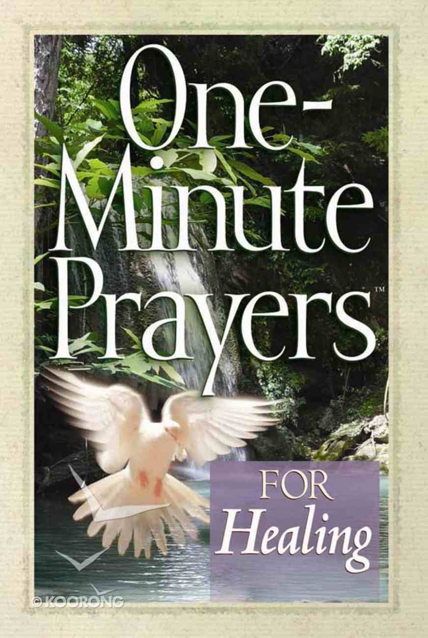 One-Minute Prayers For Healing Paperback