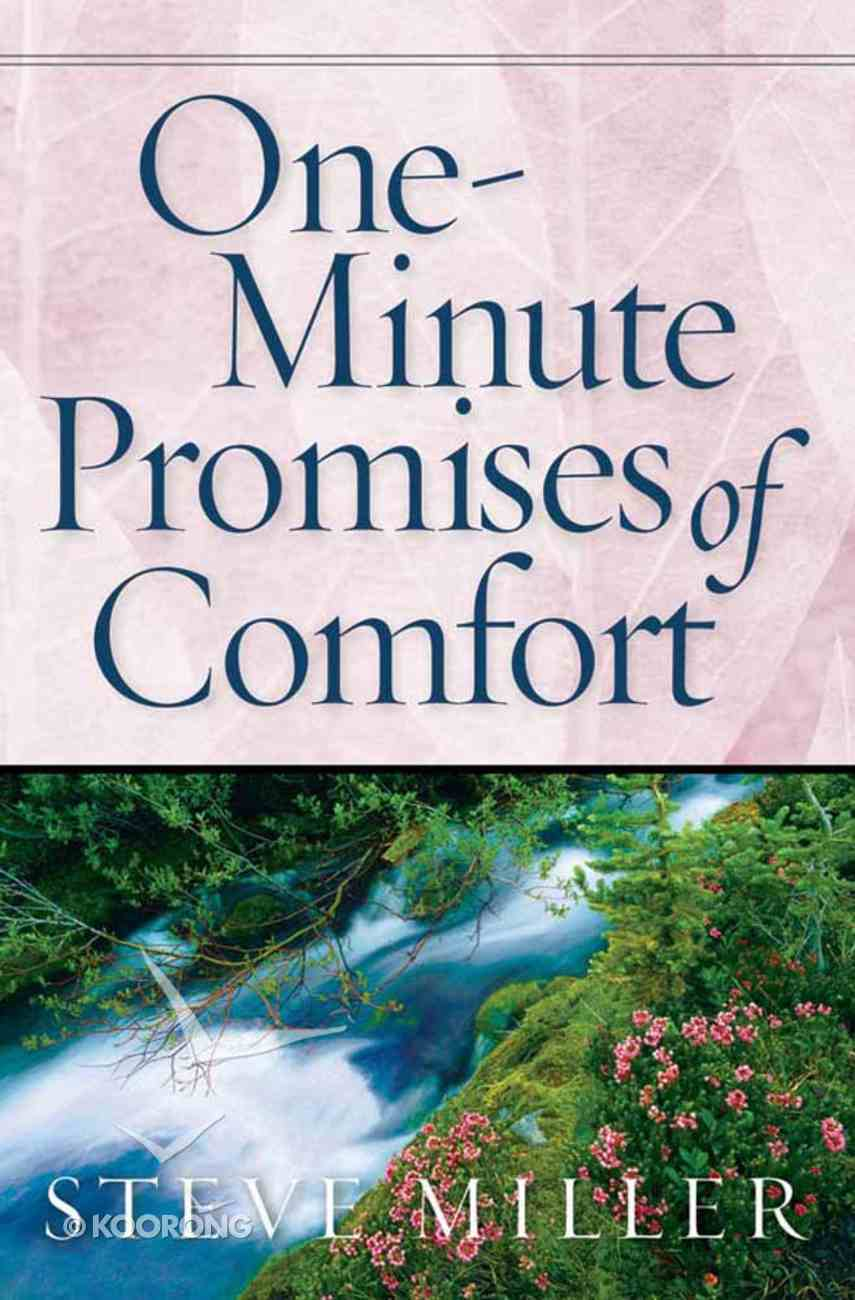 One-Minute Promises of Comfort Paperback