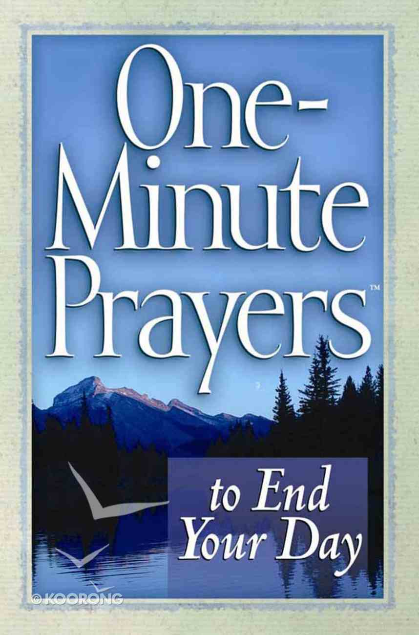 One-Minute Prayers to End Your Day Paperback