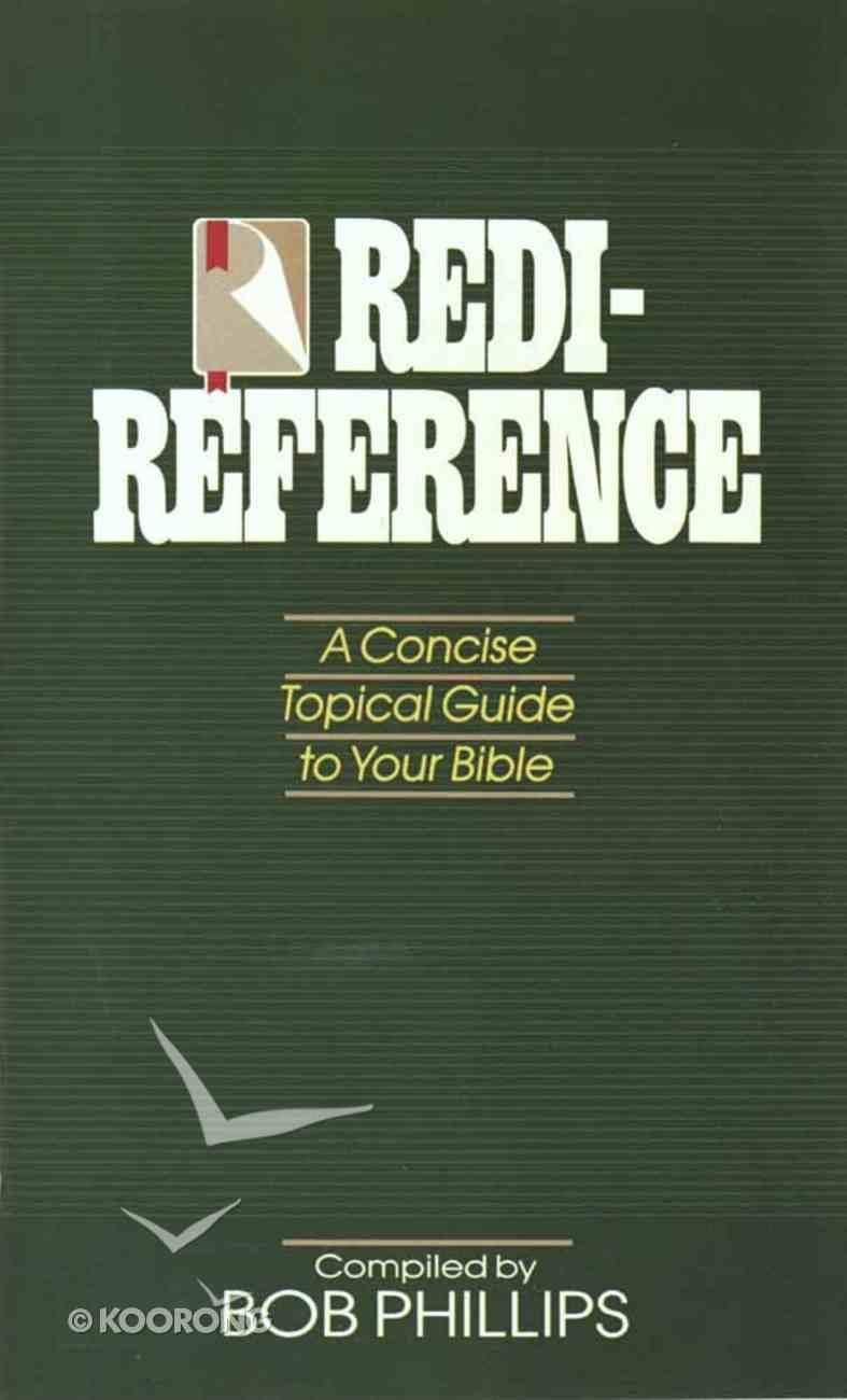 Redi-Reference Paperback