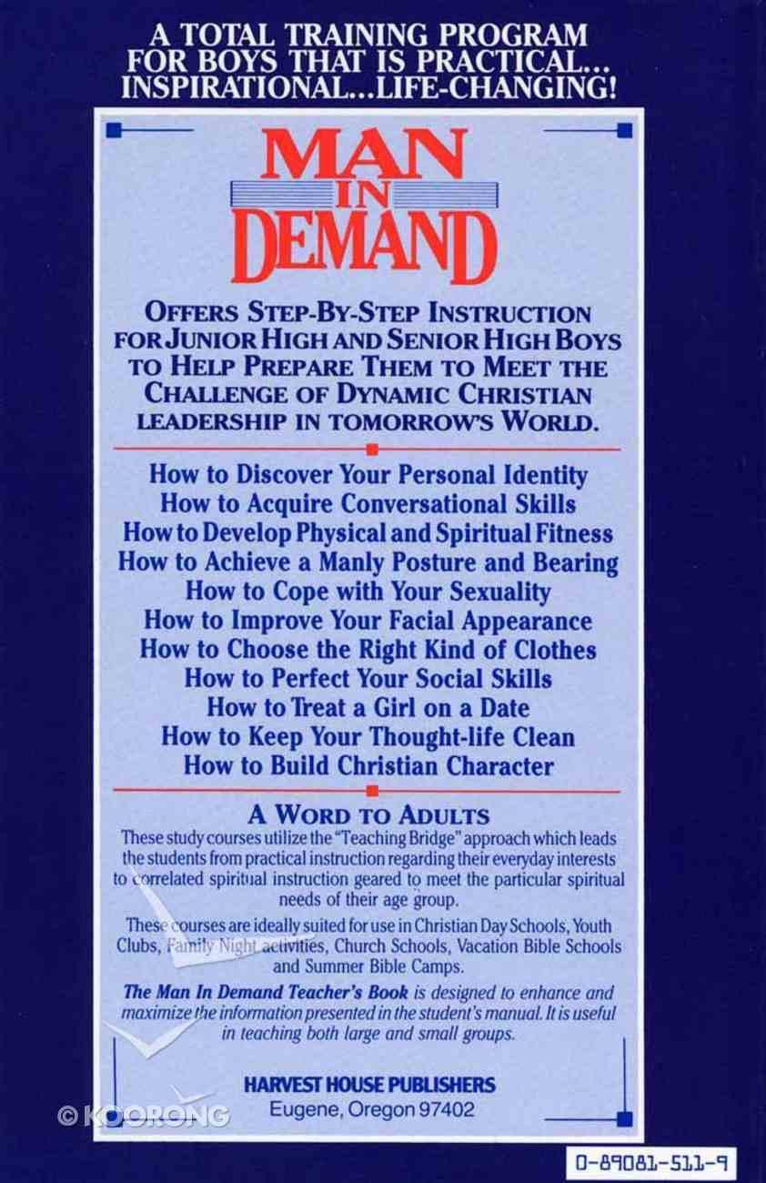 Man in Demand (Leaders Guide) Paperback