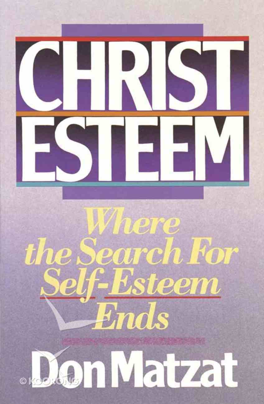 Christ Esteem Paperback