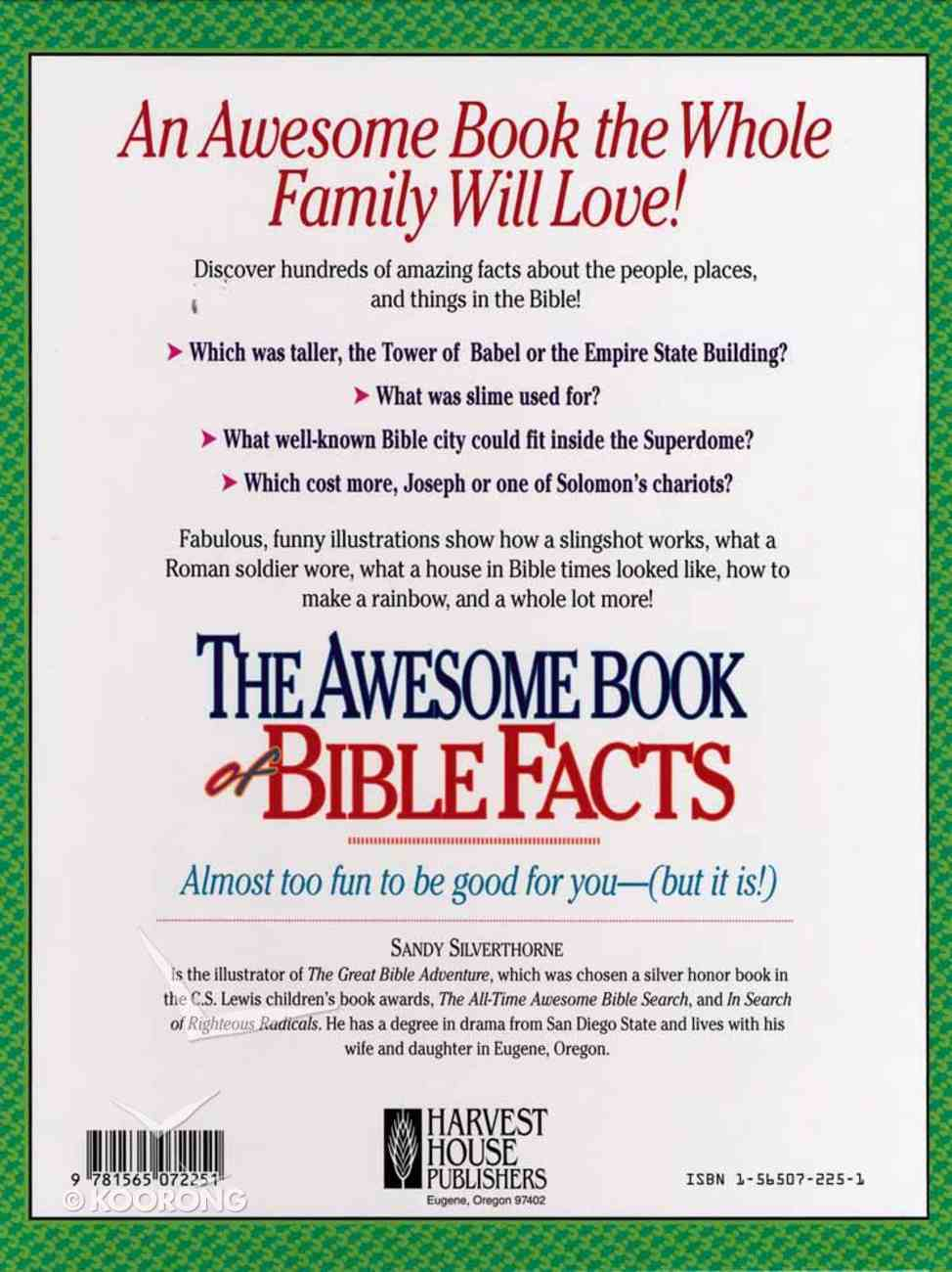 Awesome Book of Bible Facts Hardback