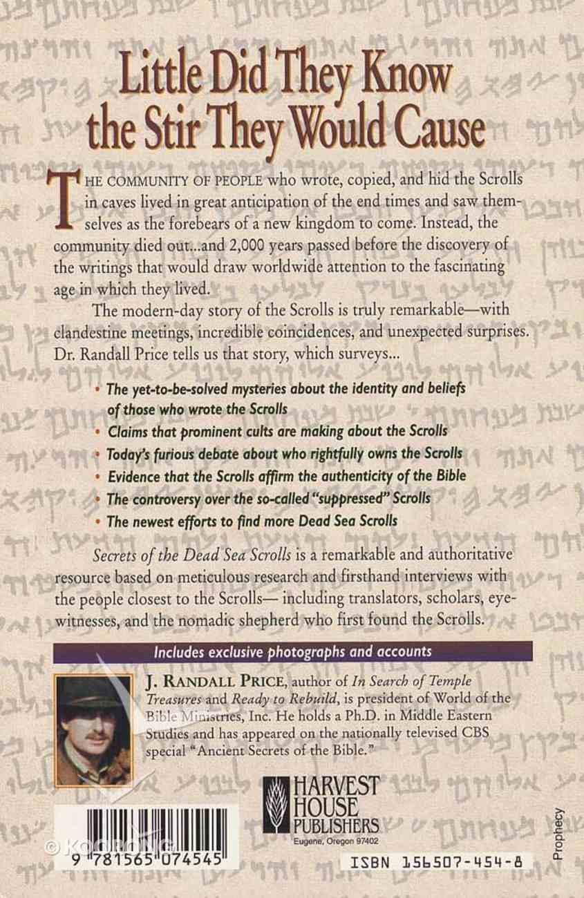 Secrets of the Dead Sea Scrolls Paperback