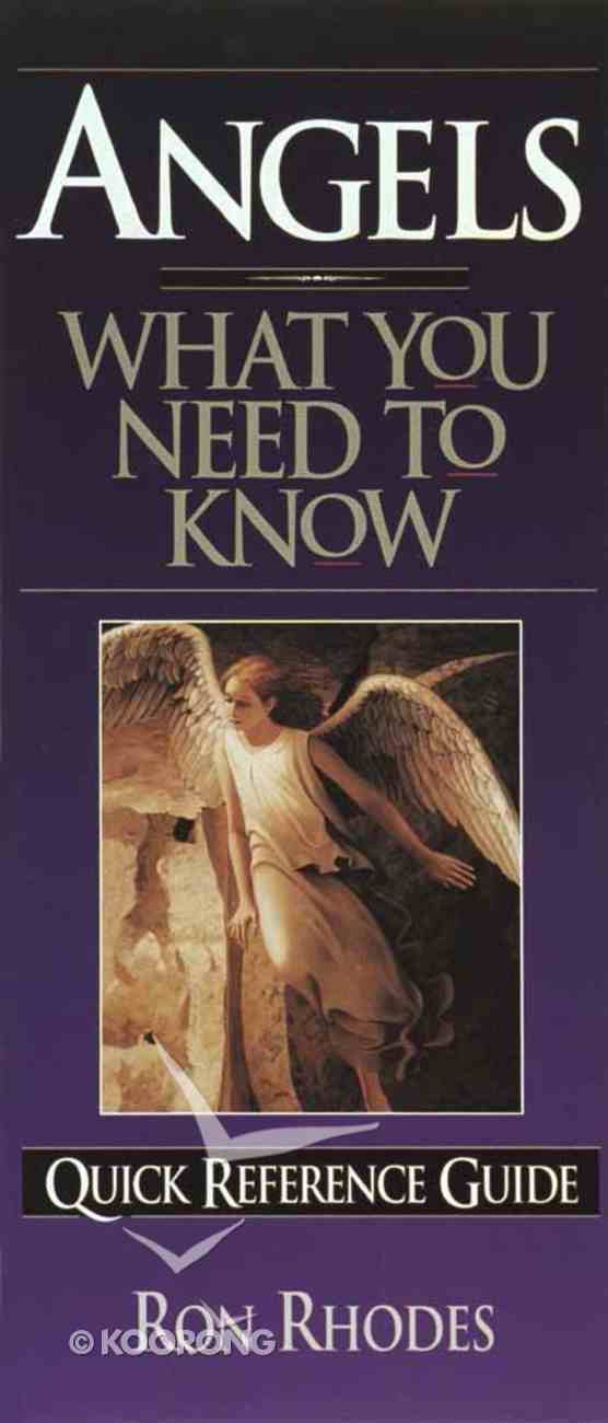 What You Need to Know: Angels Paperback