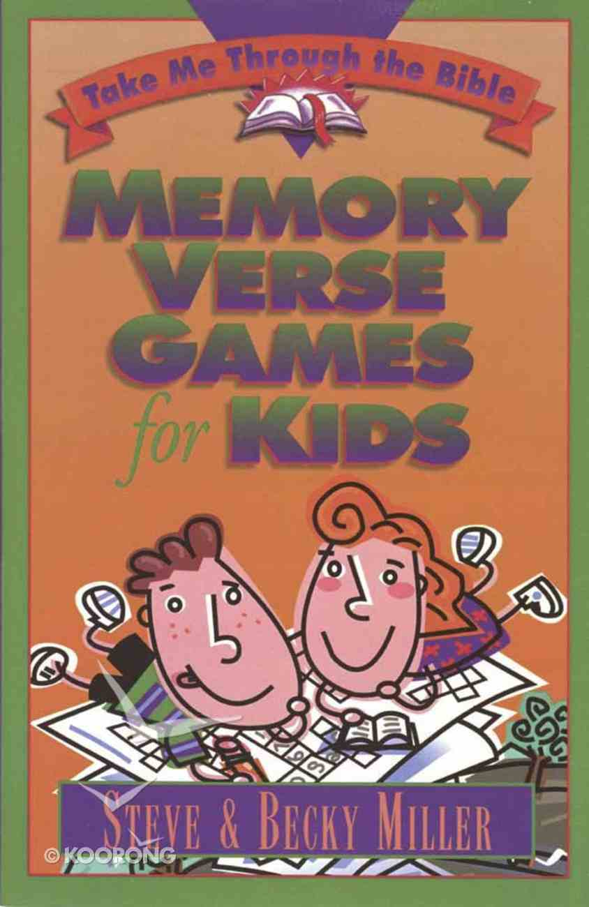 Memory Verse Games For Kids Paperback