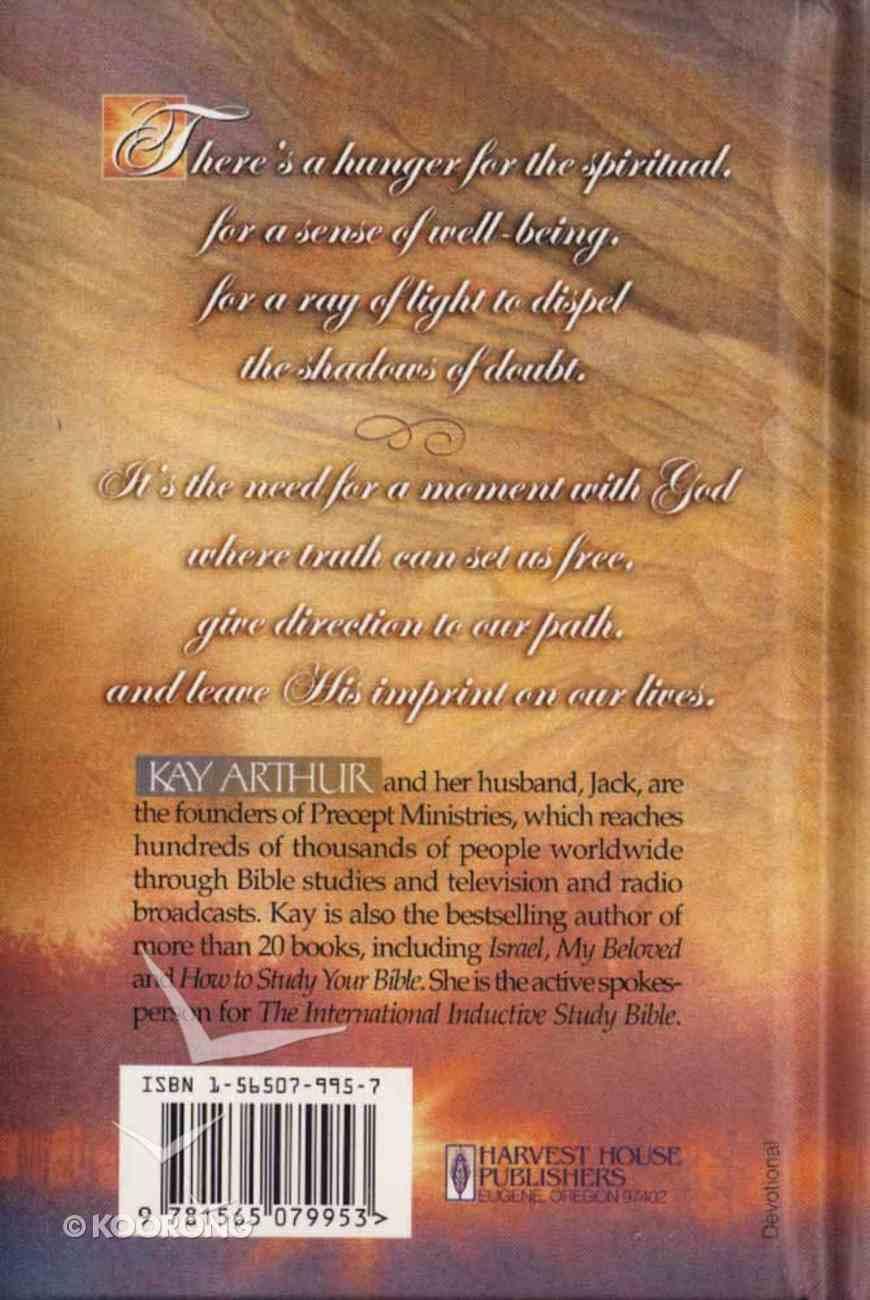 A Moment With God Hardback