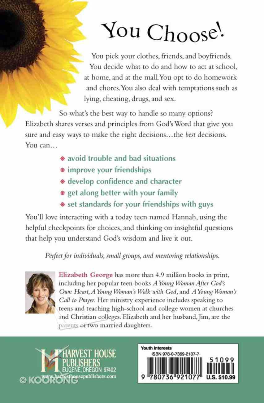 Young Woman's Guide to Making Right Choices Paperback