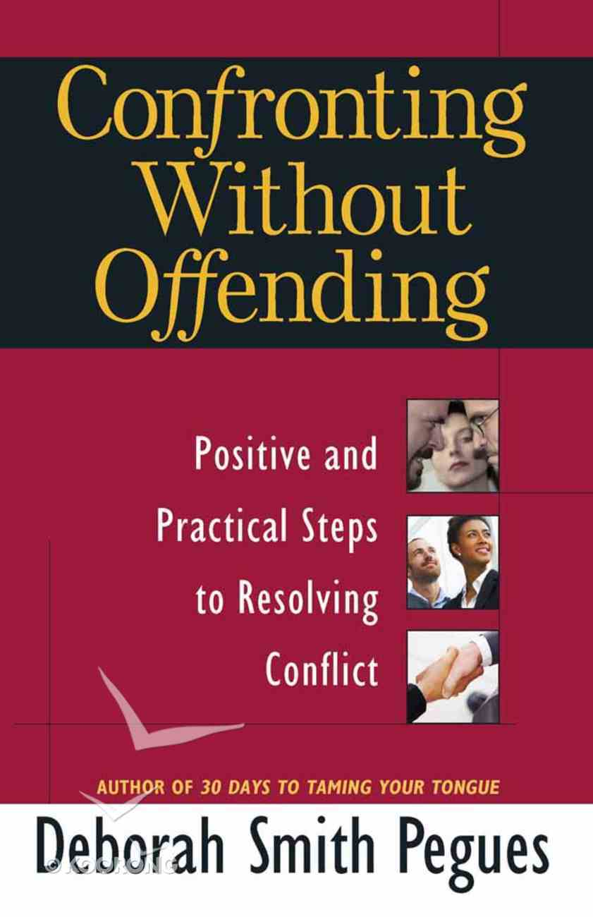 Confronting Without Offending Paperback